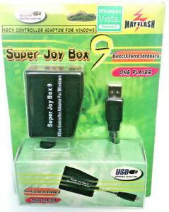 Original-Xbox-Controller-to-WINDOWS-P-C-Adapter-Super-Joy-Box9-Retro-Gaming-RARE