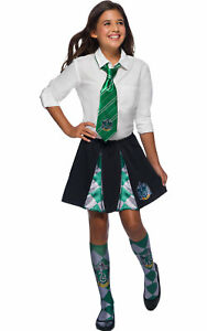 Child-Slytherin-Skirt-Fancy-Dress-Harry-Potter-Costume