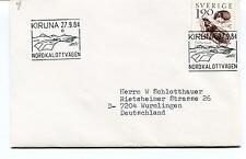 1984 NORDKALOTTVAGEN Kiruna Sverige Wurmlingen Polar Antarctic Cover
