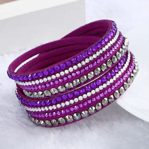 Purple-and-Grey-Vegan-Leather-Wrap-Bracelet