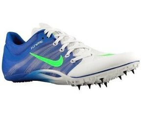 72ec2067a56 Nike Zoom Ja Fly 2 White Black Purple Track Field Spikes Cleats Mens ...
