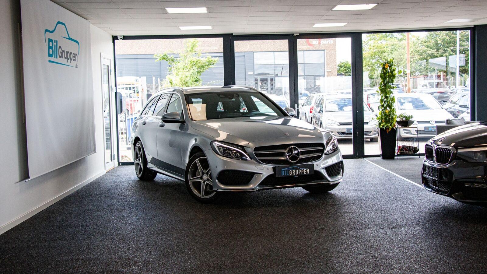 Mercedes C220 d 2,2 AMG Line stc. aut. 5d - 2.048 kr.