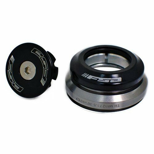 "1.5/"" Tapered Black FSA Integrated Headset ORBIT C-40 1-1//8/"""
