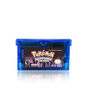Pokemon-SAPPHIRE-Version-US-Game-Cartridge-For-Gameboy-Advance-GBA-SP-DS-Lite