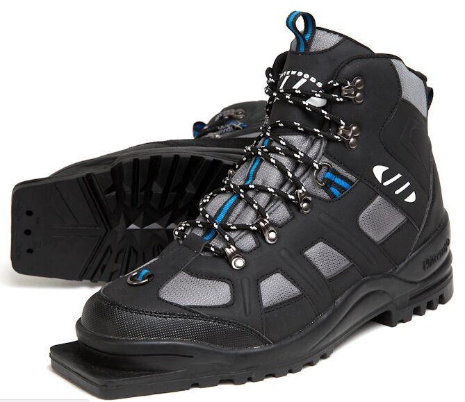 New Weißwoods 301 XC Größe 48 cross country 75mm 3 Pin ski Stiefel (13M 14W 47EUR)