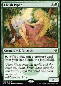 Elvish-Piper-NM-Masters-25-Magic-MTG
