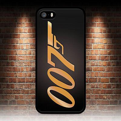 JAMES BOND 007 GOLD BACK PHONE CASE IPHONE 5 5S SE 5C 6 6S 7 8 PLUS X XR MAX 11