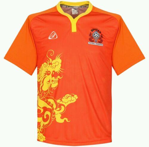 100/% Authentic Bhutan National Football Soccer Team Official Dragon Jersey Shirt