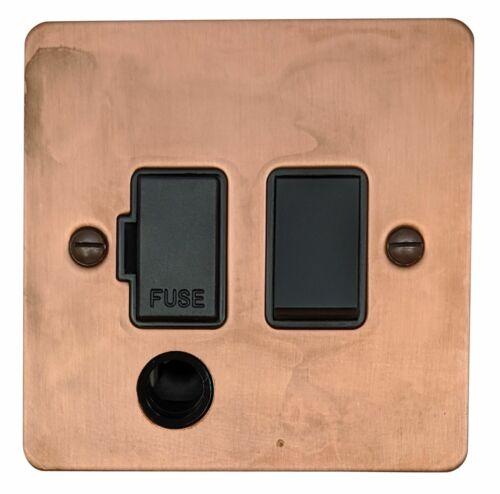 G/&h FTC56B plat plaque ternie en cuivre fondu Spur 13 A Switched /& Flex Outlet