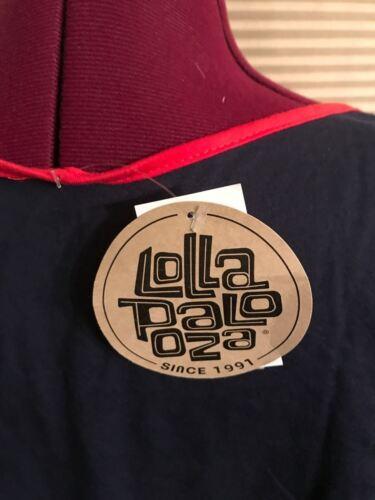 2016 NWT Lollapalooza COTTON MEN/'S TANK TOP T-Shirt SZ MEDIUM MUSIC FESTIVAL M