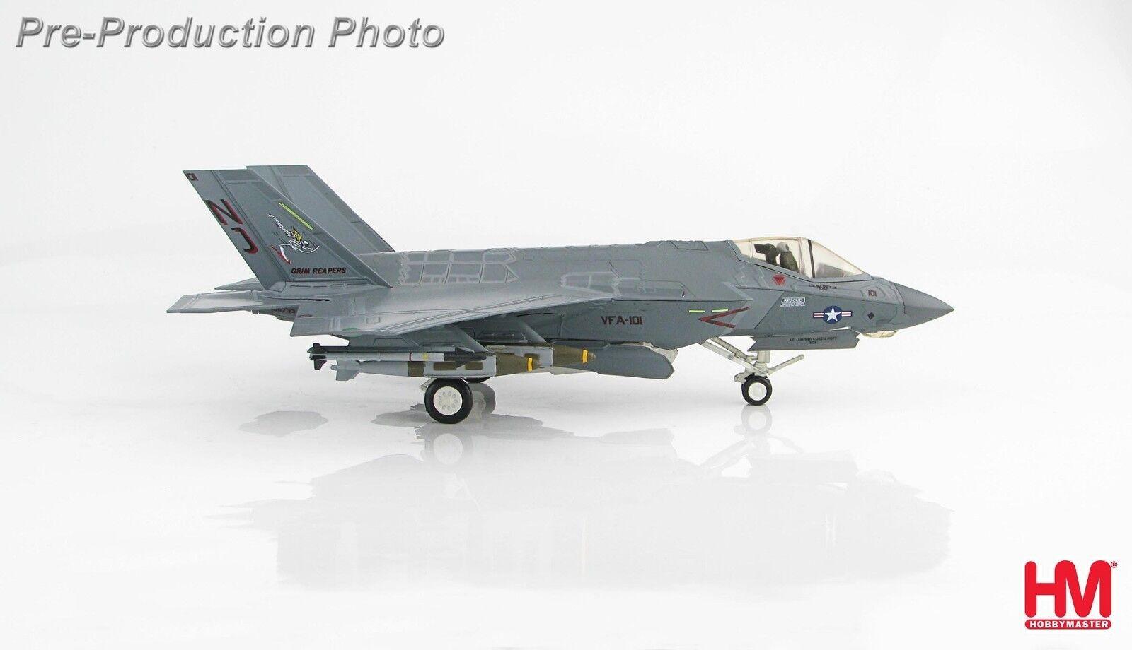 Hobby Master HA6201, Lockheed Martin F-35C Lightning Ii 101, VFA-101  Grim reape