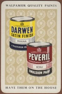 Playing-Cards-1-Single-Card-Old-WALPAMUR-Darwen-Peveril-PAINT-Advertising-Art