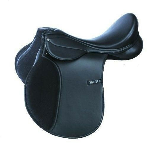 Kincade Redi Ride All Purpose Synthetic Saddle with Padded Airflow Flaps