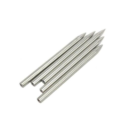 2pcs Stainless Steel Paracord Needle Umbrella Rope Stitching Weaving Needles