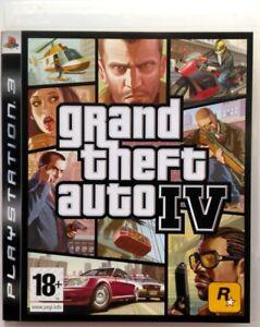 Gioco-PS3-GTA-4-Grand-Theft-Auto-IV-Rockstar-Sony-PlayStation-3-Usato