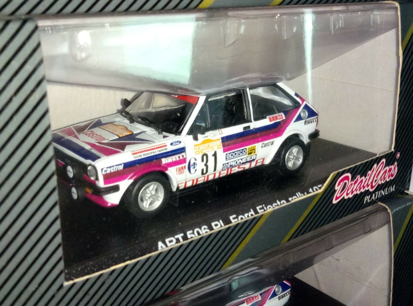 rare 1:43 FORD FIESTA CUNICO by DETAIL CARS Sanremo 1977 1977 1977 DT506pl | Vente Chaude  632c65
