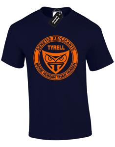 TYRELL MENS T SHIRT COOL BLADE RUNNER RETRO SCI-FI DESIGN REPLICANT S 5XL