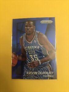 2014-15 Panini Prizm Kevin Durant Blue Prizms #/99 New Jersey Nets Thunder