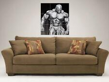"""RONNIE COLEMAN MOSAIC 35""""X25"""" INCH WALL POSTER BODYBUILDING BIG RON"""