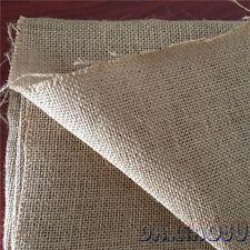 50x160cm Natural Jute Burlap Fabric DIY Christmas Stocking Gift Bag J815-1 B