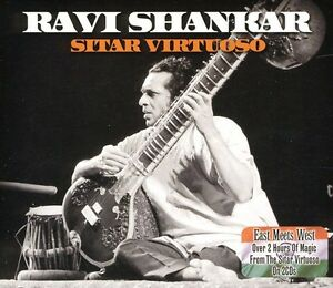 Ravi-Shankar-Sitar-Virtuoso-New-CD-UK-Import