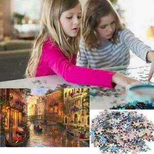 Adult-1000-Piece-MINI-Jigsaw-Puzzle-Sunset-In-Venice-Gift-Game-Toy-L7Q0
