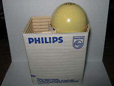 2 Pack, Philips 60 watt Bug Light, Yellow Incandescent Bulb, 60A/Y, 120V, New