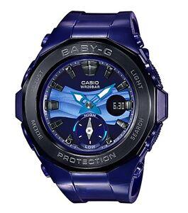 Casio Baby-G * BGA220B-2A Beach Glamping Black & Violet Anadigi COD PayPal