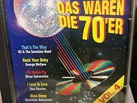 Das waren die 70er 4 George McCrae, Harold Melvin, Three Degrees, Detroit.. [CD]