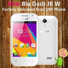 "BLU Dash Jr W WHITE 3.5"" Dual Sim Quad-Band Unlocked Android GSM Phone D141W"