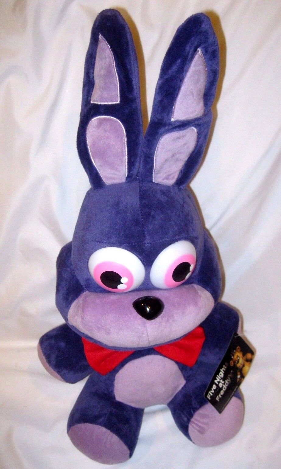 Five Nights at Frossody's 15  Bonnie viola Rabbit Plush-FNF 15  Bonnie Plush-Nuovo