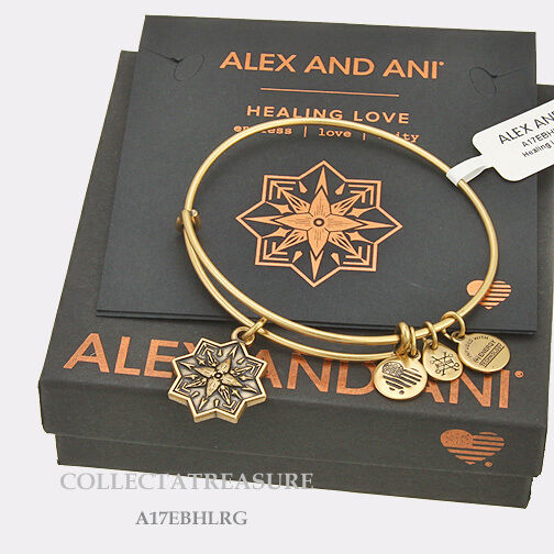 3e9da4f3e Alex and Ani Healing Love II Bangle Bracelet RAFEALIAN Gold Expandable for  sale online   eBay
