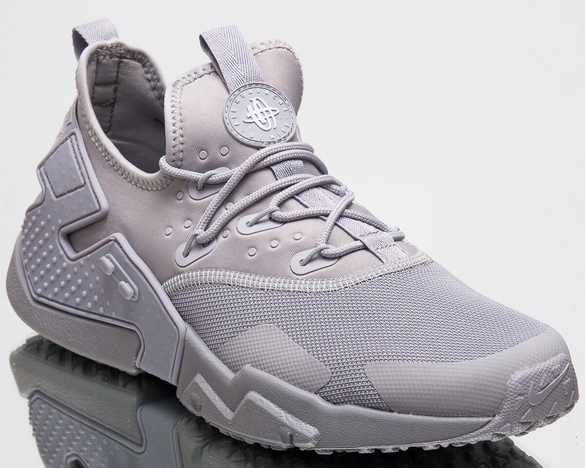 Nike Air Huarache Drift Uomo New Shoes Wolf Grey White Uomo  AH7334-004