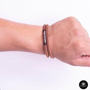 Kavak - Handmade Earthy Leather Adjustable Women's Bracelet