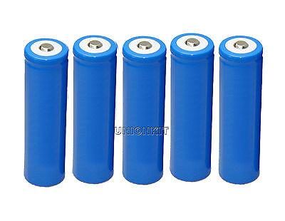 new 5pcs 18650 LED Flashlights Rechargeable Torch Battery Li-ion sport batteries