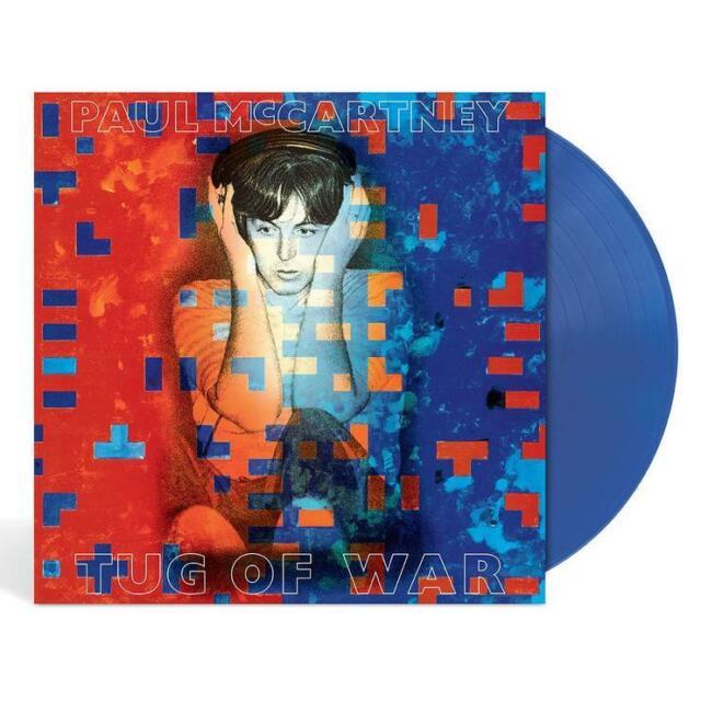 Paul McCartney -Tug of War (stunning blue x color vinyl)---SEALED...