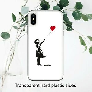 Details about Banksy Balloon Girl Heart Dreams Sky Case Cover for iPhone Samsung Huawei Google