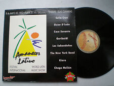 AMANECER LATINO VV.AA SPAIN LP 1993 Live SALSA Celia Cruz Oscar D' Leon...