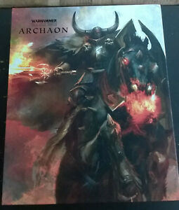 Original Warhammer The End Times Vol 5 Archaon - 2 Vol - Games Workshop Oop Dessins Attrayants;