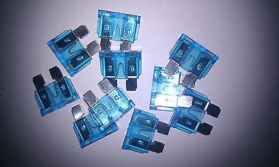 Standard Blade Fuse 15amp Blue Pack of 5