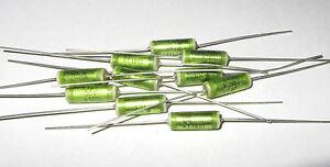 10-pcs-1uf-100V-ERO-Polyester-Foil-Audio-Capacitor-KT-1801-NN-Film-Cap-Green