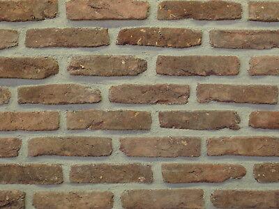 Feldbrandsteine Verblender Bh831 Braun Feldbrand Klinker Feines Handwerk Nachdenklich Orig