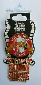 Disney-Soda-Fountain-Who-Framed-ROGER-Rabbit-amp-JESSICA-PIN-Trading-Event-LE-DSF