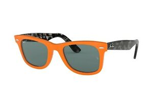Ray-Ban-RB2140-124252-Wayfarer-ORANGE-Gray-POLARIZED-50-mm-Unisex-Sunglasses