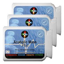 Massa Anabolica-non-Steroidi Muscolo Fuel-Proteina 500mg per vegan Capsula X 270