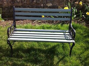 Vintage Cast Iron Childrens 2 Seater Garden Bench  Refurbished - <span itemprop=availableAtOrFrom>kettering, Northamptonshire, United Kingdom</span> - Vintage Cast Iron Childrens 2 Seater Garden Bench  Refurbished - kettering, Northamptonshire, United Kingdom