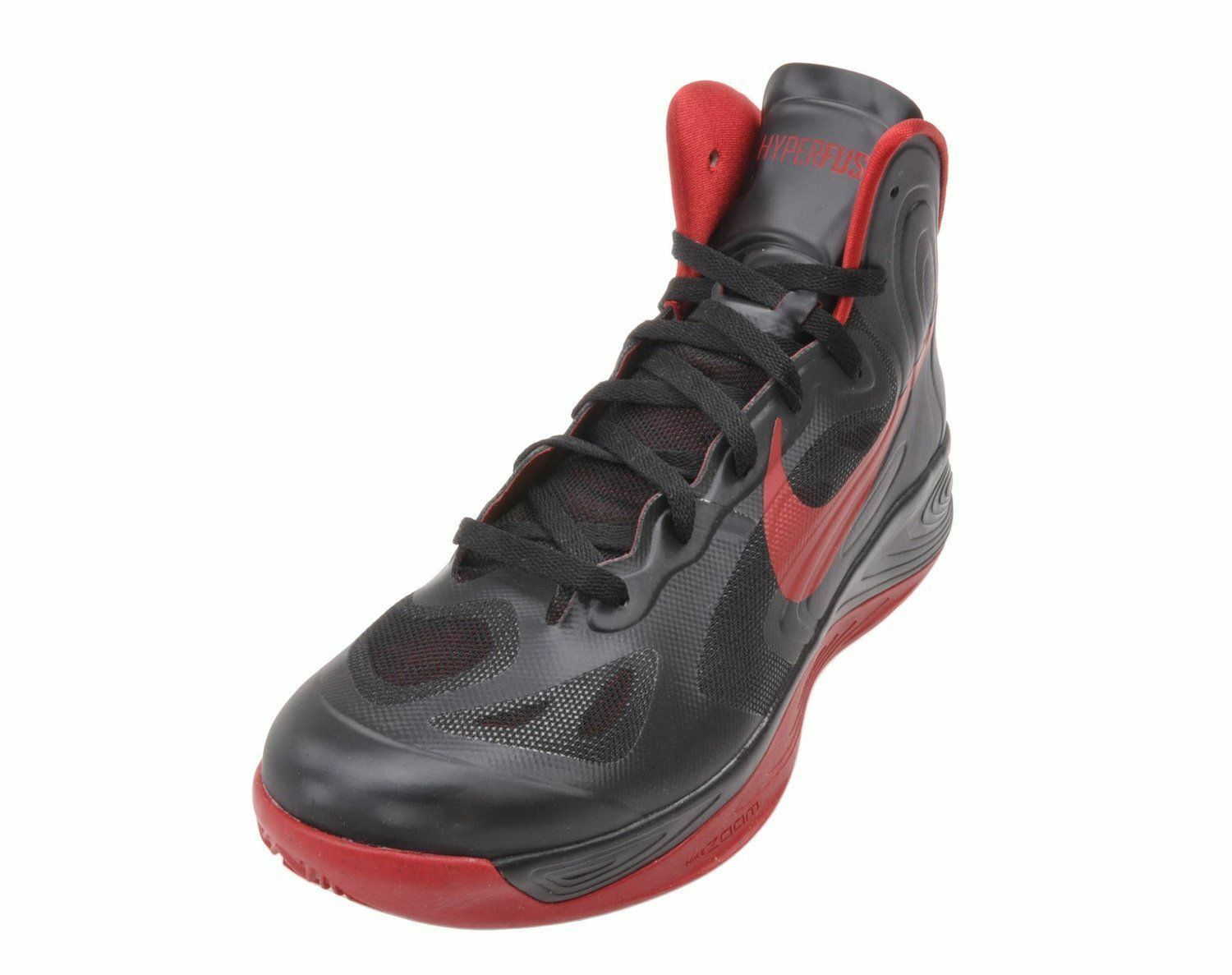 Hyperfuse team nike basketball 525019 - schuhe, 525019 basketball 004 n - schwarz / studio ROT 9226c8