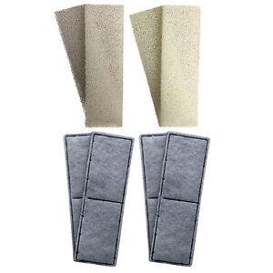 4-x-Fluval-U3-Mousse-compatible-et-Polycarbon-cartouches-filtre-interne-eponges