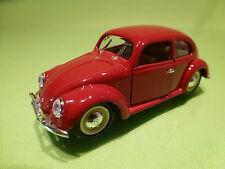 RIO VW VOLKSWAGEN BEETLE KAFER - SPLIT WINDOW - RED 1:43 - EXCELLENT