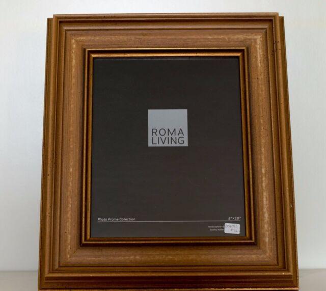 8 X 10 Roma Caramel Easel Back Photo Frame Ebay